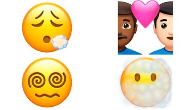 Se suman más emojis en iOS 14.5