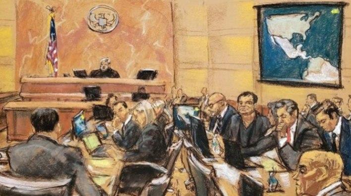 El Chapo Guzmán fue condenado a cadena perpetua y 30 años adicionales tras uno de los juicios contra un capo de la droga más mediático de los últimos tiempos (Foto: Archivo/EFE)