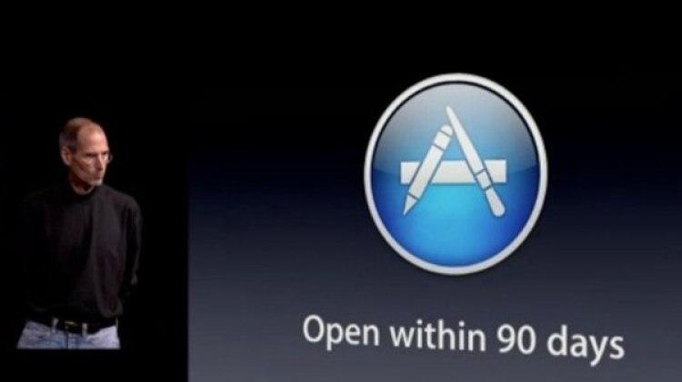 El 10 de junio de 2008 nació la App Store de Apple.