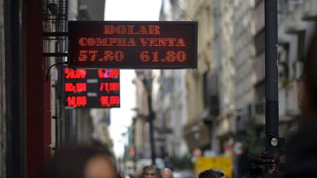 El miércoles el dólar cerró en torno a los 60 pesos (foto de archivo: Gustavo Gavotti)