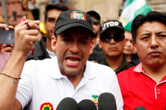 Luis Fernando Camacho (REUTERS/Carlos Garcia Rawlins)