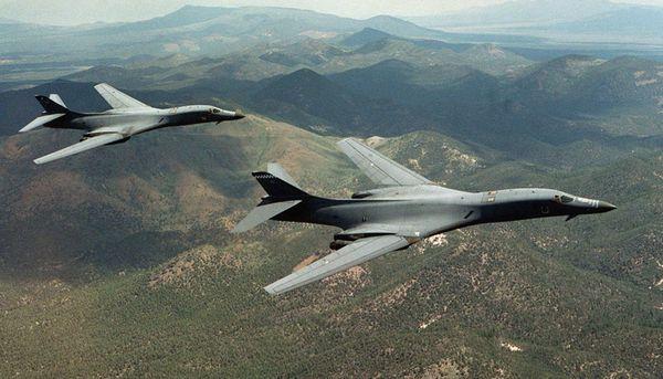 Bombarderos Lancer B-1B (Reuters/Fuerza Aérea)