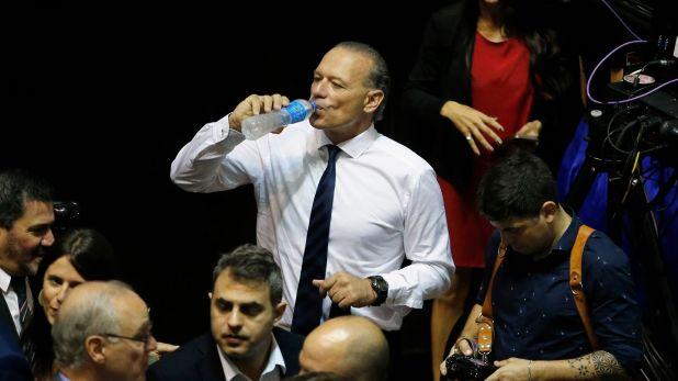 Sergio Berni. Mañana jurará como Ministro de Seguridad provincial (Nicolás Aboaf)