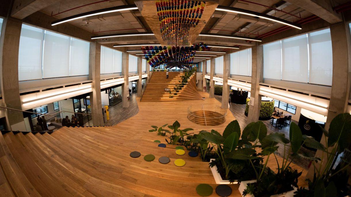 Las nuevas oficinas de la empresa en el barrio porteño de Saavedra (Adrian Escandar)
