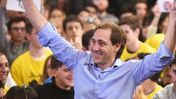 Julio Garro, intendente reelecto de La Plata (NA)