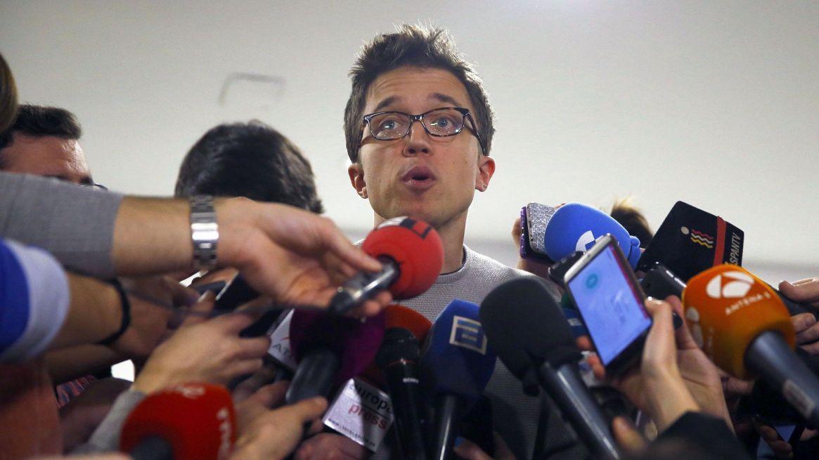 Iñigo Errejón rompió con Podemos y busca un nuevo espacio para la izquierda con Más País. (EFE)