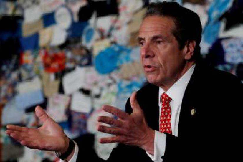 New York State Governor Andrew Cuomo. Photo: REUTERS / Mike Segar