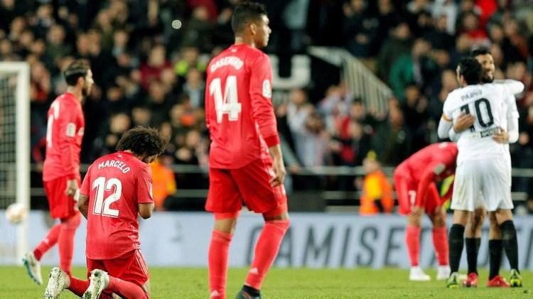 Marcelo y Casemiro, dos de los futbolistas que dejarían el Real Madrid la próxima temporada (EFE/ Kai Försterling)