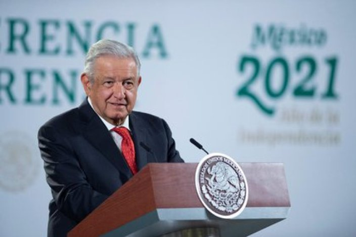 AMLO comenzó a dar conferencias mañaneras desde el 3 de diciembre de 2018 (Foto: Presidencia de México)