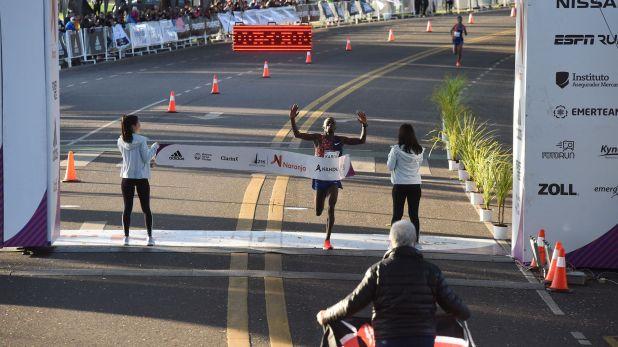 Bedan Karoki había finalizado en el segundo lugar durante la media maratón de 2018