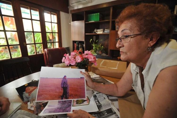 """Isabel Esther López de Carrascull, """"Ucha"""" para todos los que la conocen en Hernando, Córdoba. La madre buscó a su hijo durante más de tres décadas (La Voz del Interior)"""