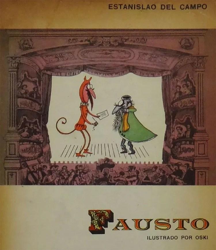 """El diablo del """"Fausto"""", de Estanislao del Campo"""