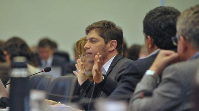 El diputado Axel Kicillof