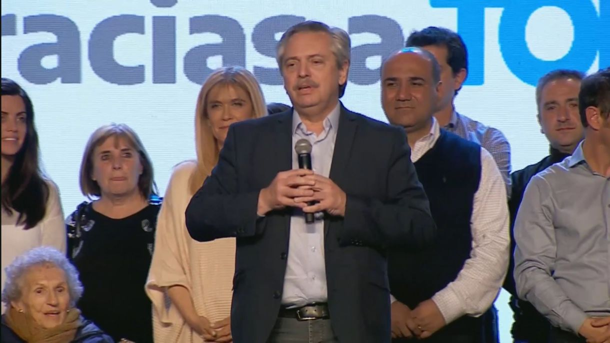 La dupla Fernández-Fernándezganó las PASO a nivel nacional