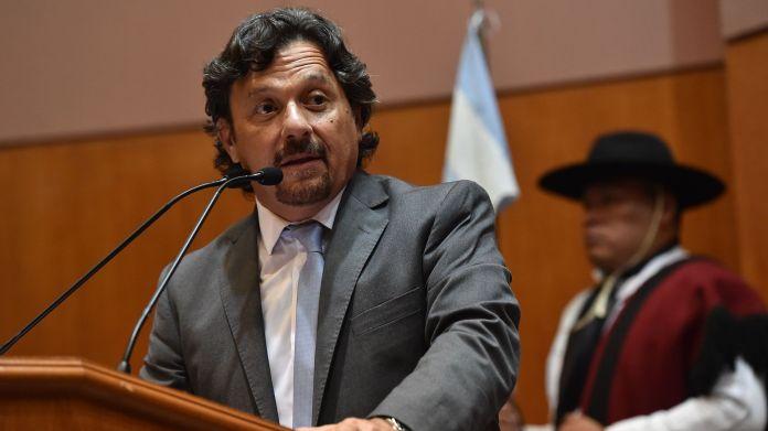 gobernador de Salta, Gustavo Saenz
