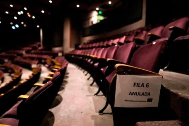 Vista del Teatro Picadero el 17 de noviembre de 2020, en Buenos Aires (Argentina). EFE/Juan Ignacio Roncoroni/Archivo