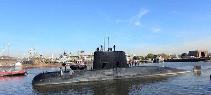 El submarino ARA San Juan (foto de archivo)