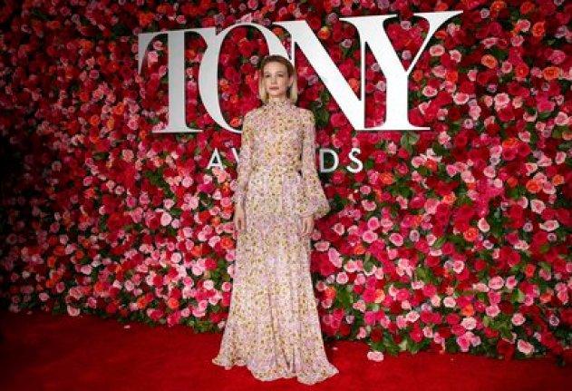 72nd Annual Tony Awards - Arrivals - New York, U.S., 10/06/2018 - Carey Mulligan.  REUTERS/Brendan McDermid