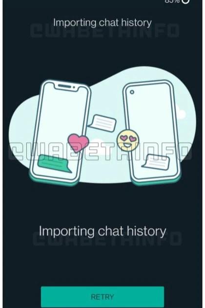 WhatsApp trabaja en una nueva herramienta para migrar chats entre iOS y Android (WABetaInfo)