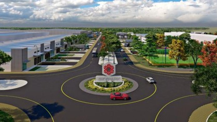 SkyPark, a unique industrial park of its kind on the peninsula (Photo: SkyCapital)