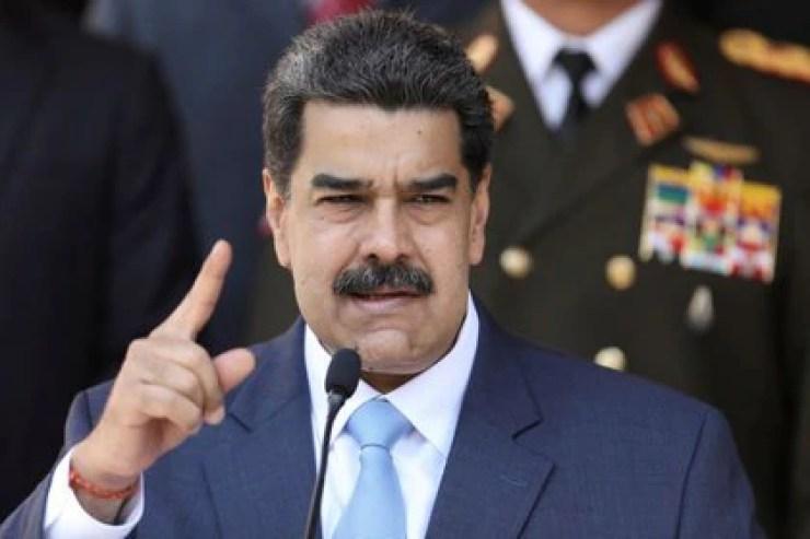El presidente de Venezuela, Maduro, realiza una conferencia de prensa en el Palacio de Miraflores en Caracas, Venezuela, Marzo 12, 2020. REUTERS/Manaure Quintero/Foto de Archivo