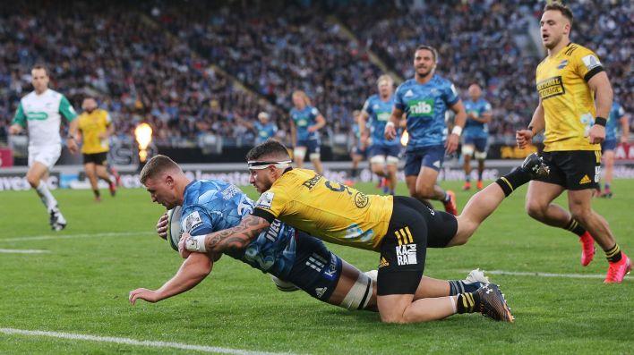Auckland Blues vs Wellington Hurricanes - Super Rugby Aotearoa