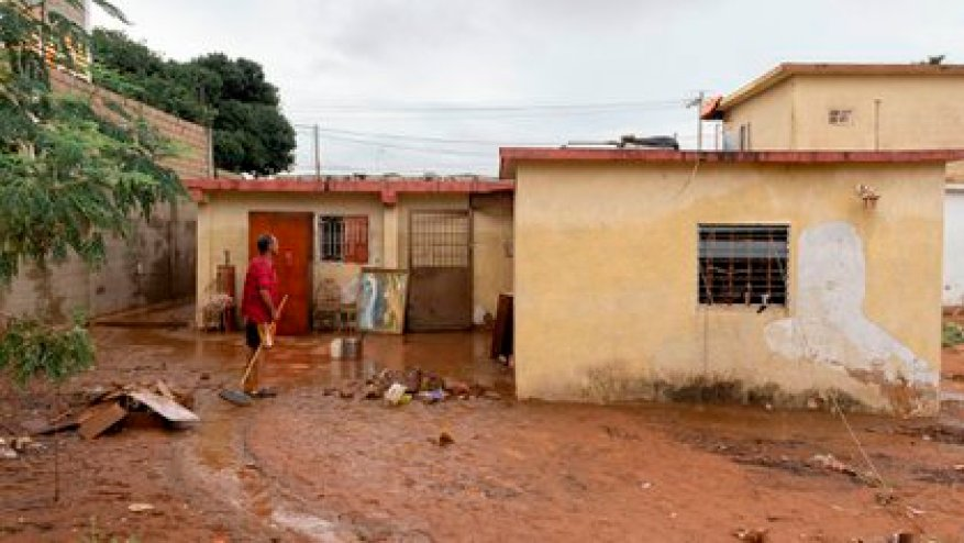 Heavy rains have left several towns in Venezuela flooded
