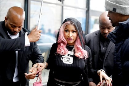 Nicki Minaj (NTB Scanpix/Ole Berg-Rusten/via REUTERS)