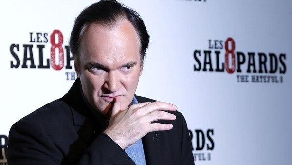 Quentin Tarantino ha estado involucrado en varias controversias en los últimos meses (AP)