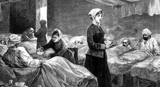 La enfermera Florence Nightingale marcó una época e hizo prestigiosa y reconocida el rol de la enfermería