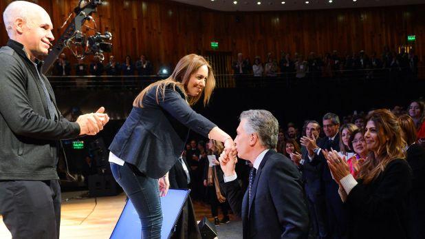 La semana pasada Macri se reunió con Maria Eugenia Vidal en Casa Rosada