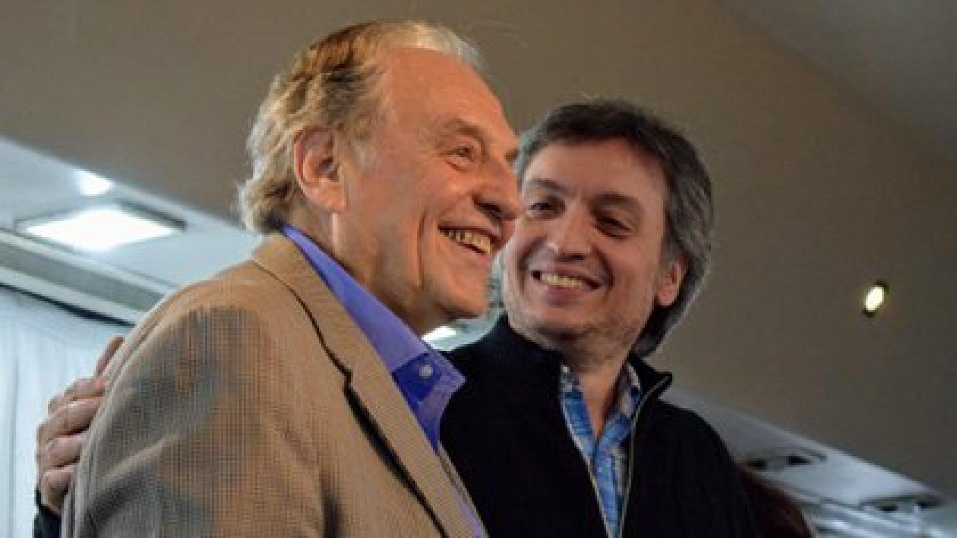 Carlos Heller y Máximo Kirchner. los diputados que impulsaron el impuesto a la riqueza