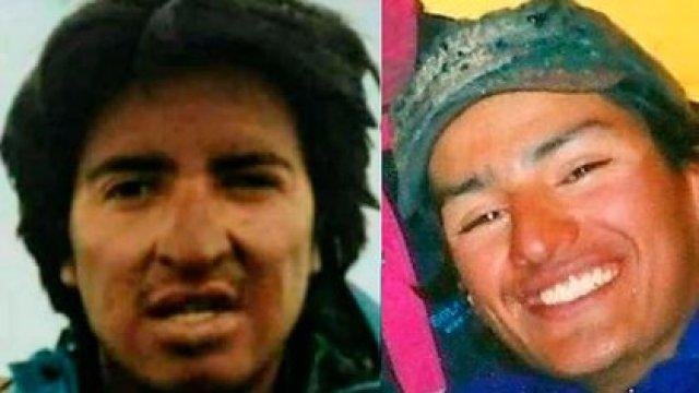 """""""Leroy"""" Villa y Nicolás Ibazeta, tenían 23 y 22 años cuando desaparecieron en la montaña, en junio de 1996"""