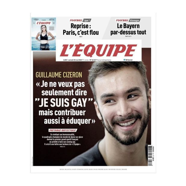 Guillaume Cizeron Tapa Lequipe