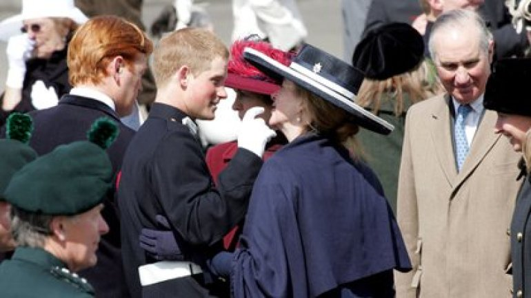 Prince Harry and Tiggy Pettifer in April 2006 (Shutterstock)