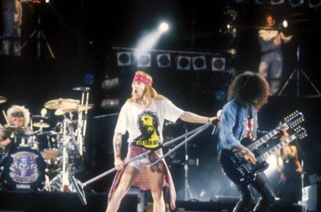 El álbum debut de Guns N' Roses es el mejor de la historia del rock, con 35 millones de copias vendidas (Foto: Andre Csillag/Shutterstock)