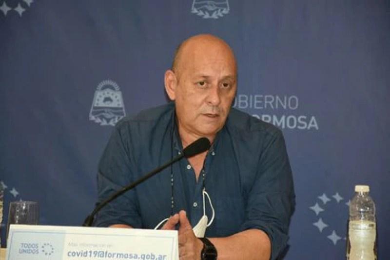 Dr. Mario Romero Bruno, director del Hospital Central de la ciudad de Formosa