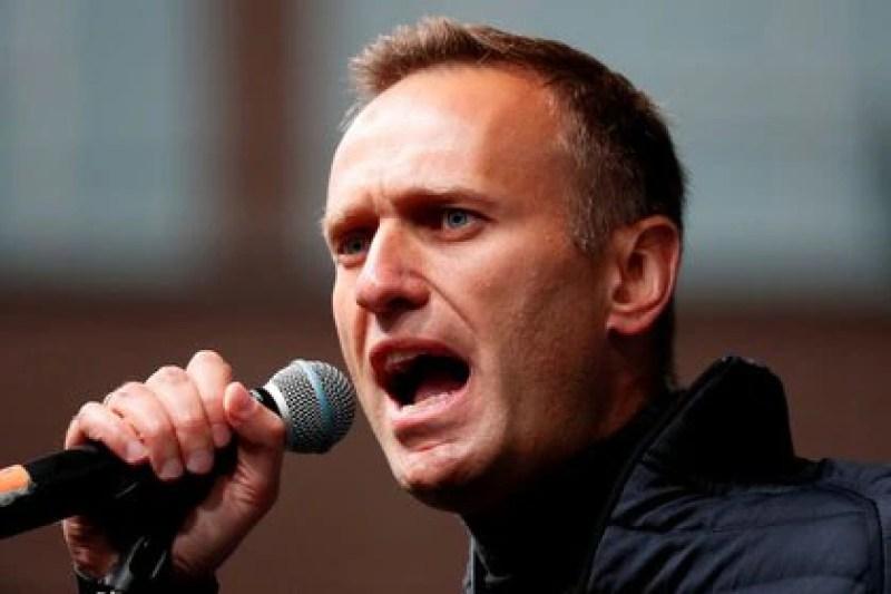 File photo of Alexei Navalny.  Photo: REUTERS / Shamil Zhumatov