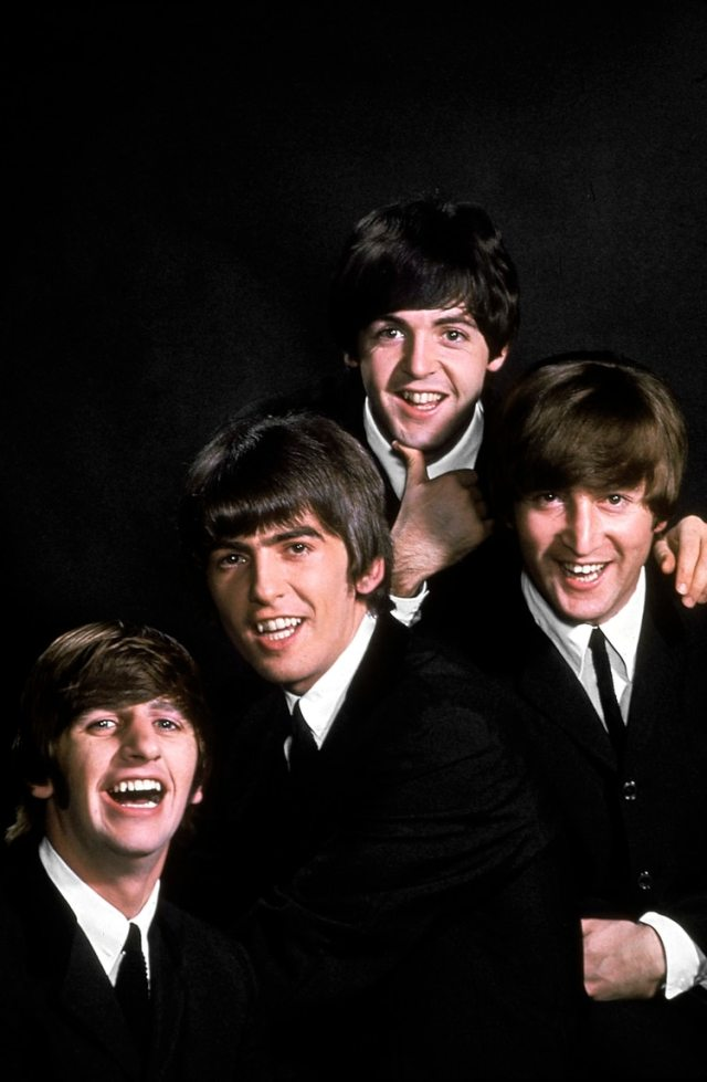 John Lennon, Paul McCartney, George Harrison y Ringo Starr (John Dominis/The LIFE Picture Collection/Getty Images)