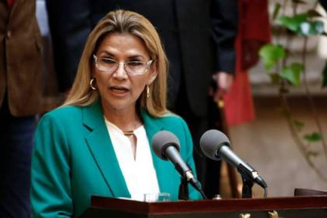Jeanine Áñez aseguró que su Gobierno no tolerará actos de corrupción (REUTERS/David Mercado)