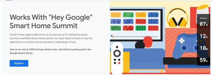 Google Summit Smart Home