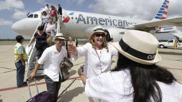 Turistas estadounidenses en Cuba (AP)