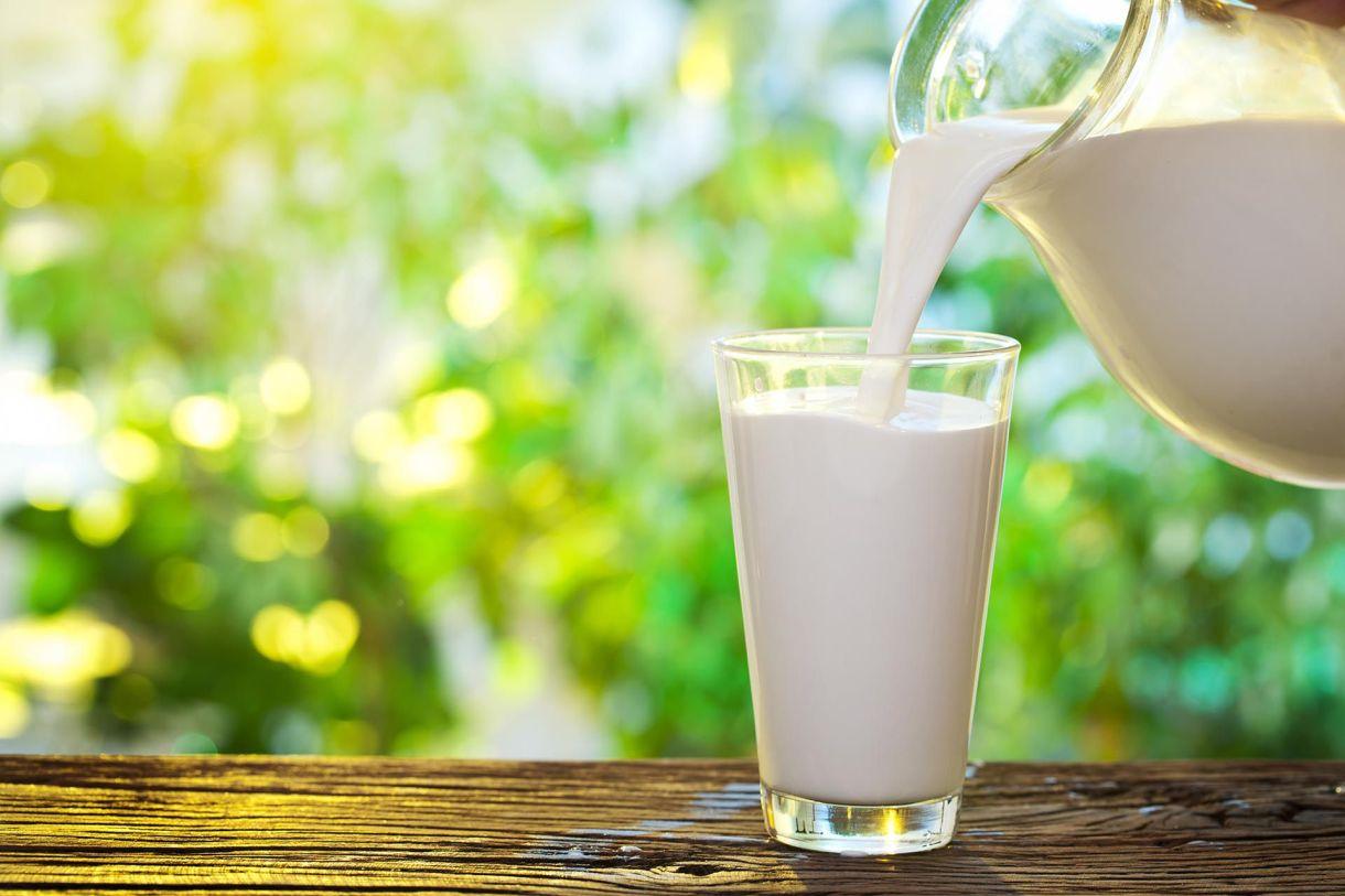 La leche tiene calcio y forma parte de los alimentos que un hipertenso necesita para consumir
