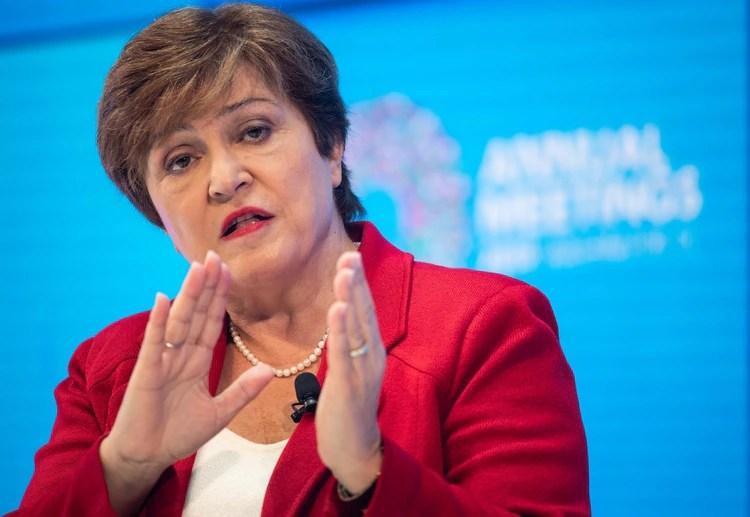 Kristalina Georgieva, nueva Managing Director del FMI (NICHOLAS KAMM / AFP)