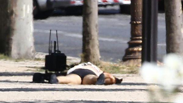 El terrorista murió tras el atentado