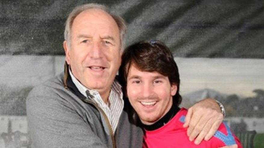 Messi and Rexach, the man who trusted in his talent, even in the face of resistance from some leaders