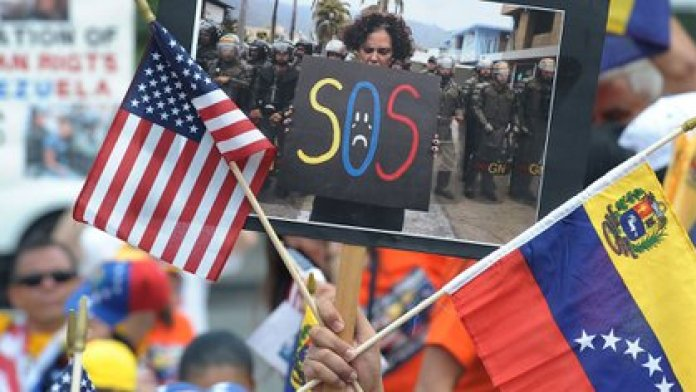Venezolanos en EEUU