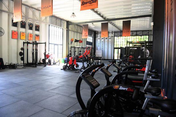 El lugar más moderno es el gimnasio de 520 m2 que cuenta con maquinaria de última generación (Maximiliano Luna)