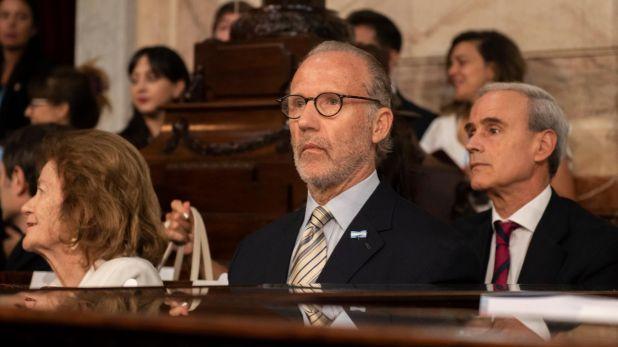 Carlos Rosenkrantz, presidente de la Corte Suprema de Justicia (Adrián Escandar)