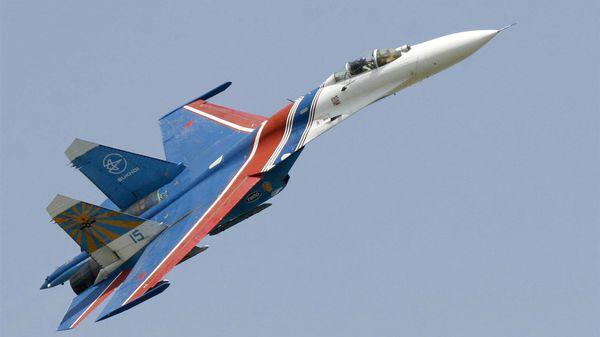 Un caza ruso Su-27 (AP)
